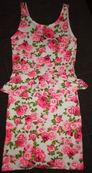 Hübsches Rosenprintkleid von H&M