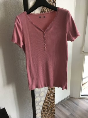 DESIGNER'S Ribbed Shirt dusky pink