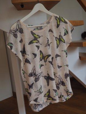 Zara Shirt met print veelkleurig