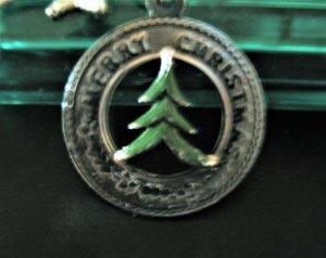 HÜBSCHES, SILBERNES 'MERRY CHRISTMAS' ARMBAND aus USA