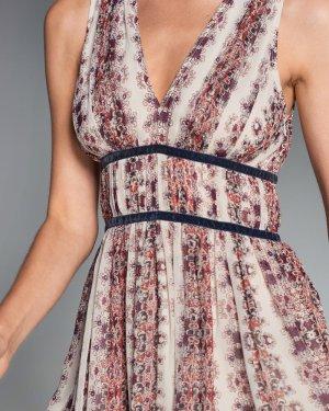 hübsches Sommerkleid mit samtverzierter Taille von Abercrombie & Fitch