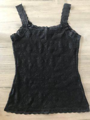 Top di merletto nero