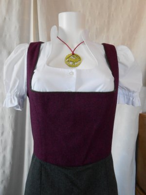 Berwin & Wolff Dirndl anthracite-purple