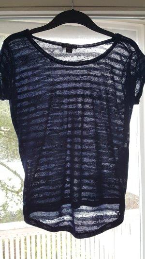 Hübsches transparentes T-Shirt, Größe XS