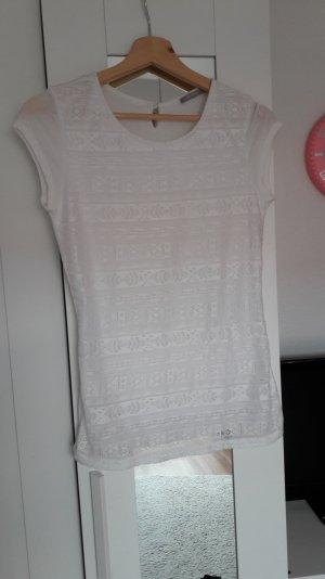 Hübsches Tshirt von Orsay Größe XS mit Spitze