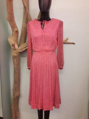 Robe longue rose-rose clair
