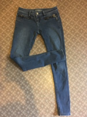 Low Rise Jeans dark blue
