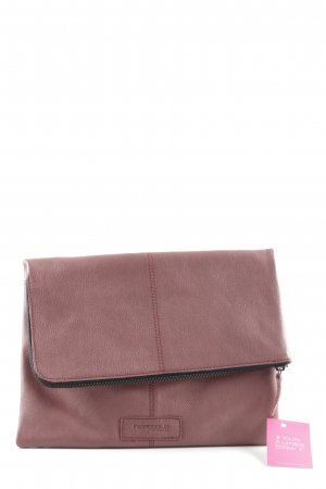 Hüftgold Clutch rot Casual-Look