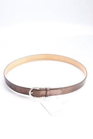 Hüftgold Belt brown metallic