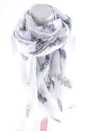 Hüftgold Halstuch weiß-schwarz Casual-Look