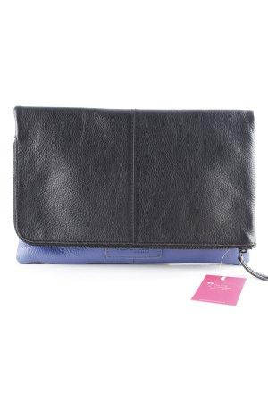 Hüftgold Handtasche schwarz-flieder Elegant