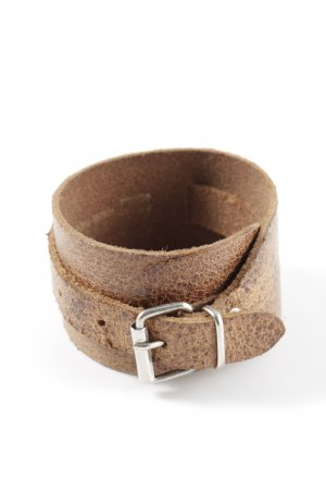Hüftgold Leather Bracelet bronze-colored extravagant style