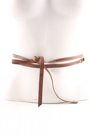 Hüftgold Leather Belt bronze-colored business style