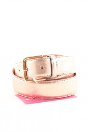 Hüftgold Leather Belt gold-colored casual look