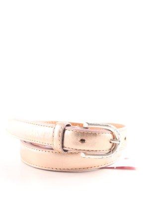 Hüftgold Cintura di pelle color carne stile casual