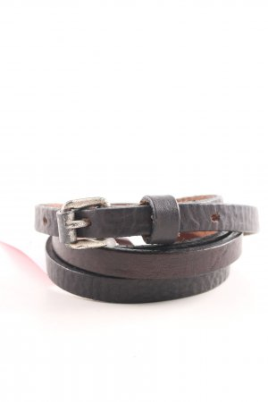 Hüftgold Leather Belt black casual look