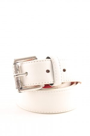 Hüftgold Leather Belt white business style