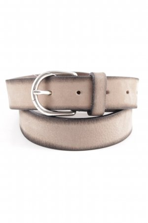 Hüftgold Leather Belt beige-black casual look