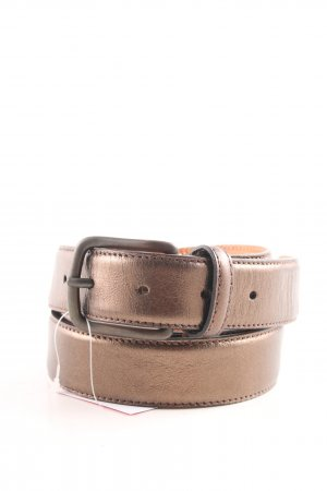 Hüftgold Leather Belt bronze-colored casual look