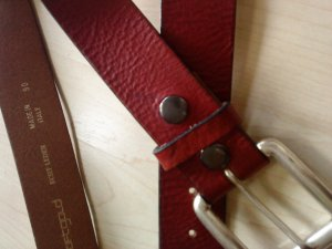 Hüftgold Leather Belt multicolored leather