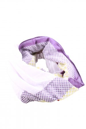 Hüftgold Tube Scarf spot pattern casual look