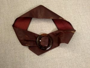 Hip Belt brown red