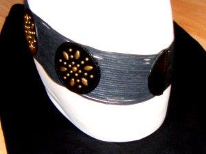 Hüftgürtel Boho-Chic schwarz