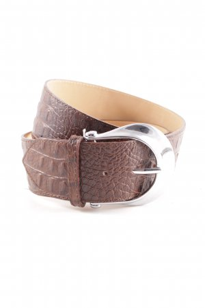 Hip Belt brown-black animal pattern country style