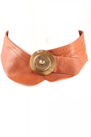 Hip Belt cognac-coloured street-fashion look