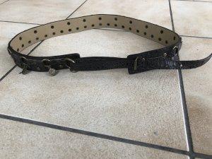 Cintura fianchi marrone scuro-bronzo