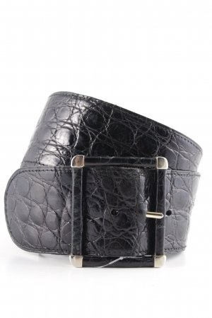 Hüftgürtel schwarz Animalmuster Street-Fashion-Look