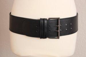 Hüftgürtel schwarz Gürtel breit H&M L