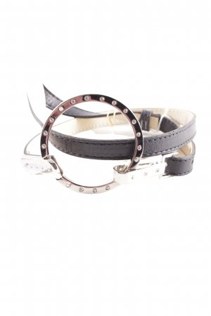Hip Belt black-silver-colored classic style