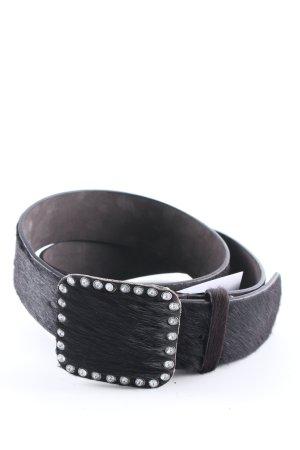 Hüftgürtel schwarzbraun extravaganter Stil