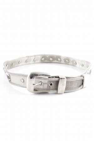 Hip Belt silver-colored extravagant style