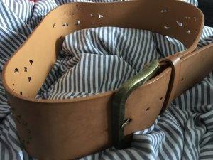 Pieces Hip Belt cognac-coloured