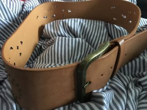 Pieces Hip Belt cognac-coloured