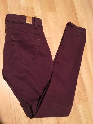Stradivarius Low-Rise Trousers purple