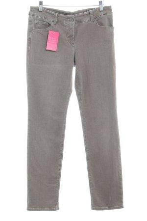 Pantalon taille basse chameau pailleté