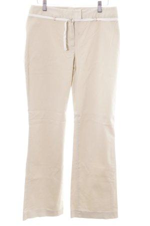 Hüfthose creme-weiß Casual-Look