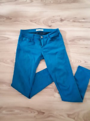 Tally Weijl High Waist Trousers turquoise