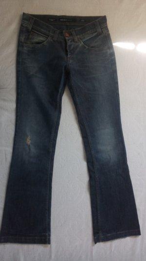 Hüftige Schlaghose Jeans von Miss Sixty