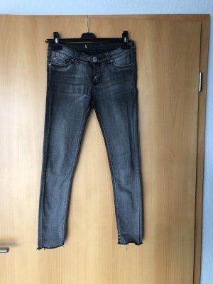 Colloseum pantalón de cintura baja gris antracita