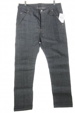 Low Rise jeans blauw casual uitstraling