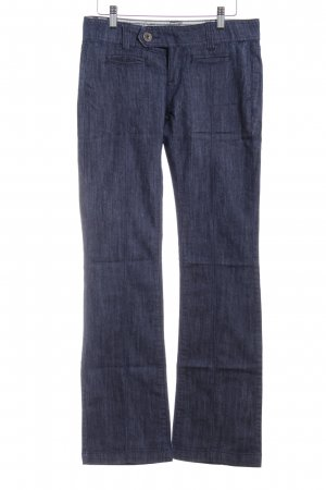Low Rise jeans donkerblauw casual uitstraling