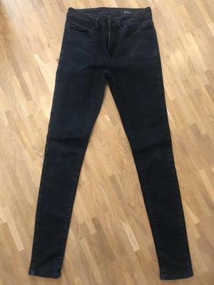 Hüftjeans - Schwarz - UN Jean