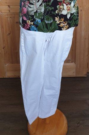 Tally Weijl Jeans 3/4 blanc