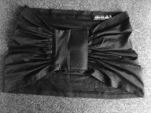 Cintura in tessuto nero Cotone