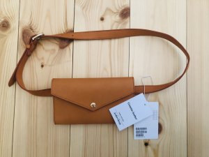 & other stories Bumbag dark orange-light brown leather