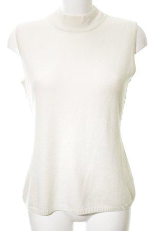 Hugenberg Camicia maglia bianco sporco stile casual